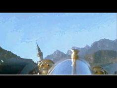 Chitty Chitty Bang Bang Flying  over Neuschwanstein Castle