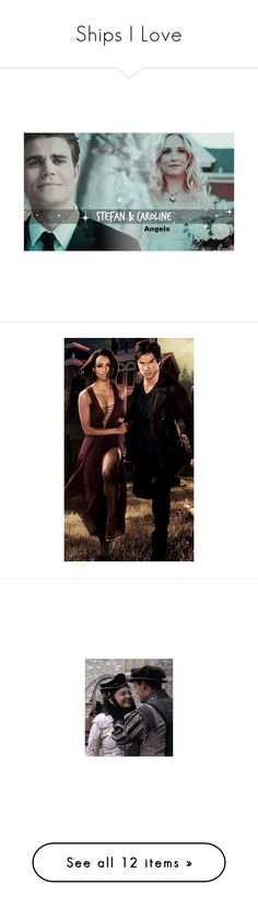 """""""Ships I Love"""" by adorablequeen ❤ liked on Polyvore featuring the tudors, doctor who, photos, pictures, pics, harry potter, hp, the originals, vampire diaries and holland roden"""