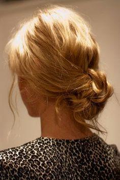 Salon K: Fashion Week hair how-to: messy bun