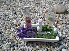 Sekt mit Lavendel!