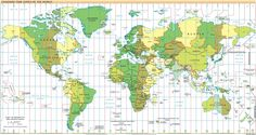 Standard Time Zones of The World ➤ http://i.minus.com/ijjCPdxUG2ms7.jpg - PDF of this image ➤ http://minus.com/lGSYToTvv1uQj - 2012 06 23