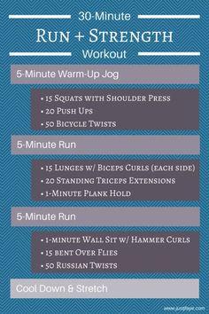 Run Strength Workout: 3 treadmill runs with 3 strength training circuits – Boxen und Krafttraining Running On Treadmill, Treadmill Workouts, Running Workouts, At Home Workouts, Tabata, Extreme Workouts, Running Tips, Running Intervals, Circuit Training Workouts