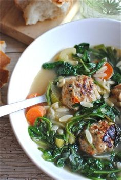 Italian wedding soup (best place: SF Soup Company and FSM at UC Berkeley)