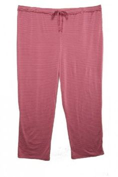 Plus Striped Pajama Pants in Pink, Size 2x LabelShopper. $7.99