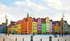 27 Technicolor Cities That Actually Exist