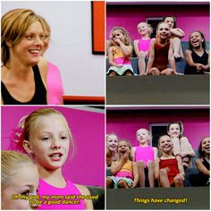 remember this funny dance moms moment? At pagie's face in the last picture