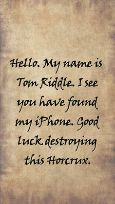 Harry Potter screensaver wallpaper. Tom riddle.This would actually be the easiest Horcrux to destroy in the world!