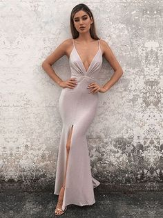 Custom Made Suitable Long Prom Dresses, V-Neck Prom Dresses, 2019 Prom Dresses V Neck Evening Dresses Long Evening Dresses Prom Dresses 2019 Prom Dresses Prom Dresses V-neck Prom Dresses Long V Neck Prom Dresses, Prom Dresses 2018, Mermaid Prom Dresses, Evening Dresses, Dress Prom, Party Dress, Wedding Dresses, Cheap Formal Dresses, Stylish Dresses