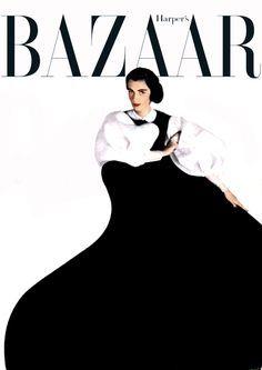 Carmen Dell'Orefice First Vogue Cover 1947 | Carmen Dell´Orefice by Erwin Blumenfeld.