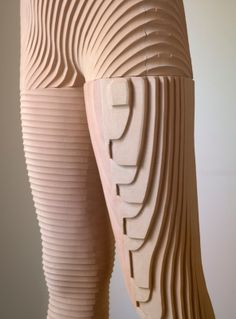 "XAVIER VEILHAN ""Debora"" 2005  Polyurethane, wood / Polyuréthane, bois  Sculpture : 47 1/4 x 13 x 12 1/4 inches Base : 41 1/3 x 13 1/4 x 13 1... Xavier Veilhan, Sculpture, Sorting, Art Work, Cool Art, Cool Stuff, Board, Crafts, Inspiration"