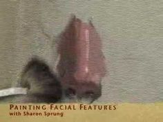 ▶ Sharon Sprung: Painting Facial Features - YouTube http://www.youtube.com/watch?v=_xnFc8qyX8s#aid=P-XTGmItdds
