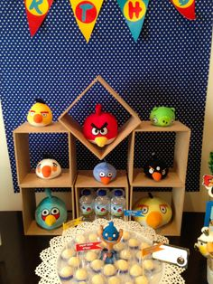 The Top 17 Angry Birds Party Ideas Images Bird Party Angry Birds