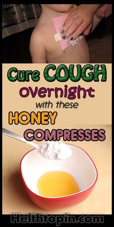 Cure cough overnight with these honey compresses #cough #health #beauty #fitness #remedies