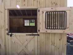 Dutch doors are a beautiful addition to your barn. The framework on Dutch doors is eye-catching, and their use guarantees better ventilation in your barn. Creating them is a bit more difficult than simply hanging a common barn door. But it is well worth the trouble to view the final result.
