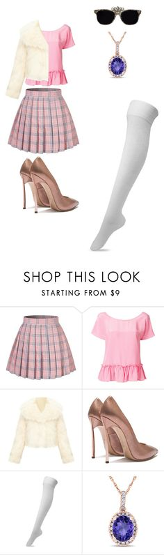"""if star butterfly light was on a show like scream queens outfit 1"" by miliorobb on Polyvore featuring Twin-Set and Allurez"