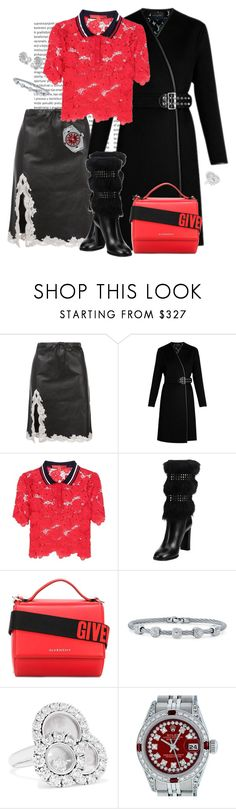 """""""Sexy winter outfit"""" by roula-gedeon ❤ liked on Polyvore featuring Alexander Wang, Louis Vuitton, Tommy Hilfiger, Burberry, Givenchy, Alor, Chanel, Chopard and Rolex"""