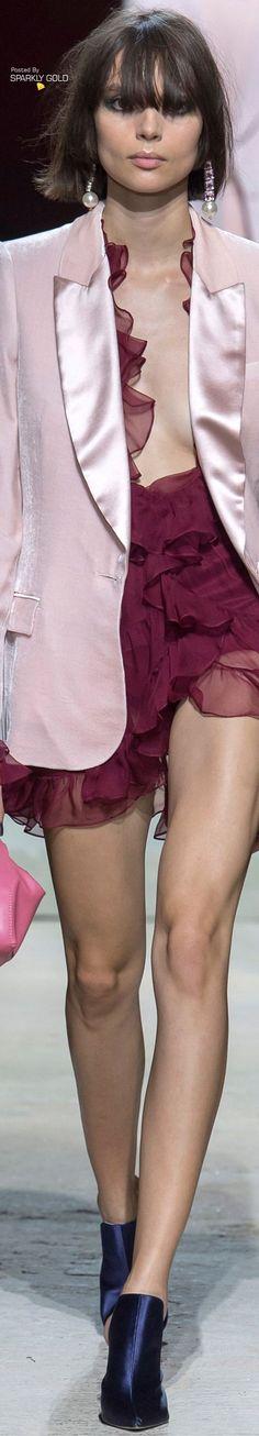 Topshop Unique Spring 2018 RTW Topshop Unique, Color Swatches, Color Combos, Pink And Green, Peplum Dress, Short Dresses, Glamour, Elegant, Lady
