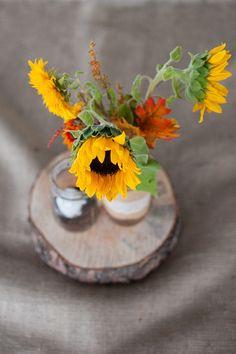 rustic fall table decor