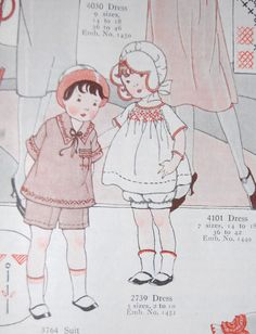 The Old Fashioned Baby Sewing Room: Vintage Baby Clothes