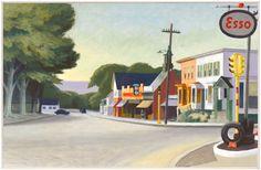 Portrait of Orleans, Massachusetts (1950) by Edward Hopper