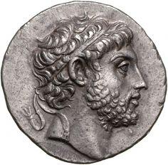 Tetradracma - argento - Pella, Macedonia (221-211 a.C.) - Filippo V con diadema di profilo vs.sn. - Münzkabinett Berlin