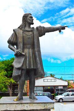 Estátua de Pedro Álvares Cabral, Porto Seguro - Bahia