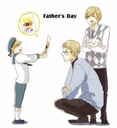 Sorry I'm a bit later at saying this but Happy Fathers Day!