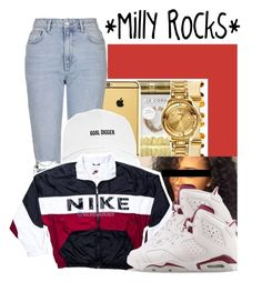 """""""[2]"""" by wo3-there ❤ liked on Polyvore featuring Topshop and NIKE"""