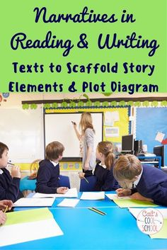 Cait's Cool School: The one about narratives in reading and writing {Part 1} Texts to Scaffold Story Elements & Plot Diagrams