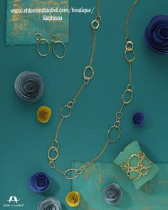 Gold #chloeandisabel #gold #jewelry