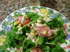 Fabulosa receta para Ensalada fresca. Ideal para estos días de calor