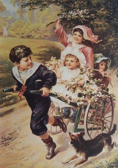 Vintage Victorian Postcard