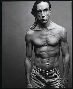 Iggy, by Annie Leibovitz #BlackandWhitePortraits