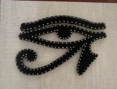Olho de Horus String Art