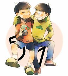 Osomatsu & Jyushimatsu