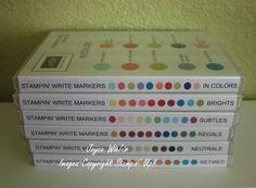 Stampin Up Marker Storage