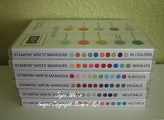 Stampin Up Marker Storage