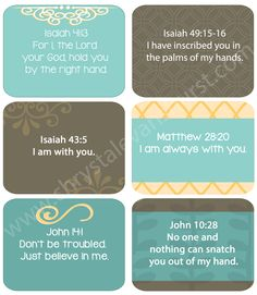 Reminders of God's Love