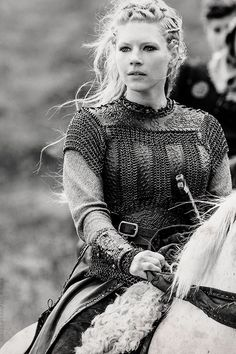 Lagertha, Shield Maiden-How many Viking women were and still are. We need more female characters like her for young women to look up to!