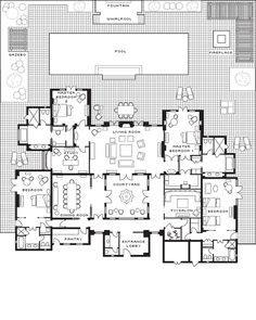 71 Best Riad Floor Plans images | Home plans, Courtyard house plans Luxury Home Plans With Pool Html on luxury home tour, luxury homes house plans, luxury house with pools, florida home plans with pools, luxury home trends, luxury 5 bedroom house plans, luxury pool house floor plans, luxury backyard with pools, luxury home swimming pools, unique home plans with pools, luxury mansions, most luxurious pools, luxury homes in atlanta, luxury home plans and designs, luxury homes in uae, luxury home floor plans, luxury home plans beach, luxury custom home plans, southern home plans with pools, luxury home indoor pools residential,