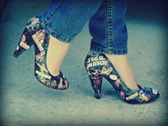 If you loved me you would buy me these Star Wars heels.