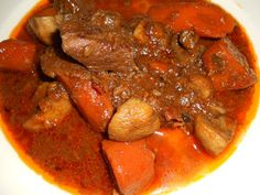 THE HOT HUNGARIAN CHEF: April 2012 Beef Rouladen, Hungarian Paprika, Heritage Recipe, Savory Crepes, Hungarian Recipes, Good Enough To Eat, Pot Roast, Family Meals, Spicy
