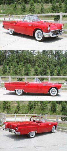 1957 Ford Thunderbird E-Code – Tremendous Restoration Thunderbird Car, Luxury Cars, Cars For Sale, Restoration, Coding, Fancy Cars, Cars For Sell, Programming