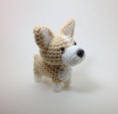 Welsh Corgi Crochet Dog Amigurumi Dog Stuffed Animal by Inugurumi