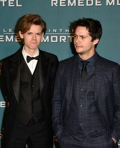 He's looking at Thomas like  *wtf*