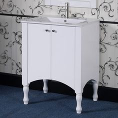 "InFurniture IN 33 Series 30"" Single Vanity Set"