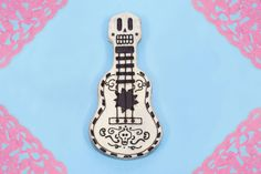 Recreate the Guitar from 'Coco' in the Form of a Delicious Cake!