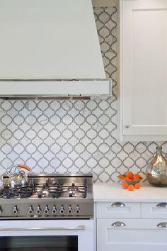 Toledo Lucido Glass and Stone Water Jet Mosaic Artistic tile Kitchen Backsplash, Kitchen Countertops, Kitchen Cabinets, Backsplash Ideas, Natural Stone Backsplash, Artistic Tile, Style Tile, Home Decor Kitchen, Tile Design