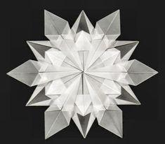 Origami Maniacs: Origami Snowflake by Dennis Walker