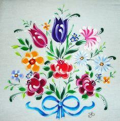 Dina Inspirações: Pintura em Tecido